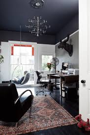 painting ideas for rooms with high ceilings. black ceiling gives the room with high a visually cozier ambiance [ design: carine harrington / simon eldon photography] painting ideas for rooms ceilings