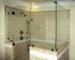 shower panel walls half wall shower half walls inline panels return wall mounted rain shower system shower panel walls