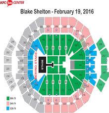 Yum Concert Seating Chart 44 Credible Yum Center Louisville Kentucky Seating Chart