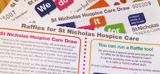 Raffles Tickets Running A Raffle St Nicholas Hospice Care Website