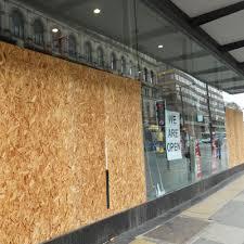 commercial glass repair emergency
