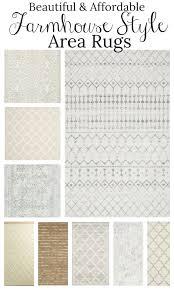 farmhouse style rugs. Affordable Farmhouse Style Area Rugs I