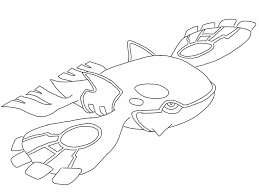 Small Picture Free Kyogre Pokemon coloring page full page PDF download on