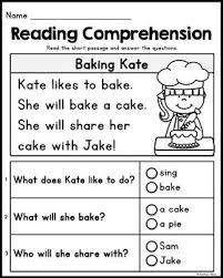 Kindergarten reading comprehension for word family og, ag, ug it. Free Kindergarten Reading Comprehension Passages Set 2 Reading Comprehension Kindergarten Kindergarten Reading Worksheets Free Kindergarten Reading