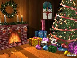 Xmas Living Room Christmas Living Room Wallpaper Hd Nomadiceuphoriacom