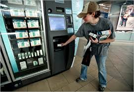 Vending Machine Service Technicians Simple Futuristic Vending Machines That Don't Nickel And Dime You The New