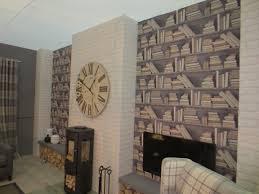 Wallpaper Idea For Living Room Admirable Wallpaper Ideas For Living Room Feature Wall Izof17