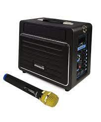 Osawa 120 Watt Şarjlı ve Mikrofonlu Çanta Amfi ( Saz ve Gitar Amfisi )