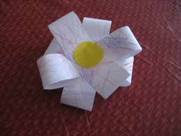 Easy Paper Flower Easy Paper Flower Kiddie Crafts 365 Blog