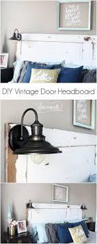 diy vine door headboard learn how to turn a vine door into a headboard and