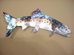 metal wall art fish australia