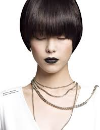 Hair Style Asian short bowl cut hairstyle with shine for asian hair 2095 by wearticles.com