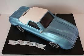 3d Car Birthday Cakes Corvette Custom Cakes Sweet Grace Cake
