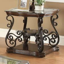 description this lovely traditional end table