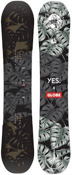 Yes Snowboard Size Chart Yes Globe Nsb Hybrid Camber Snowboard 155cm 2020