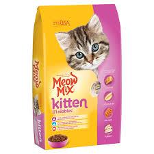 Kitten Lil Nibbles Dry Kitten Food Meow Mix