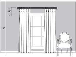 to hang curtain rod over sliding door