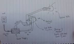 power supply wiring ac switch with dc led electrical engineering Led Shop Light Wiring Diagram enter image description here