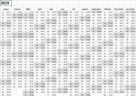 Excel Kalender Dynamischer Kalender 2019 Für Excel Toptorials
