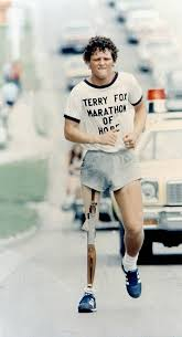 best terry fox a canadian hero images fox foxes  terry fox a canadian hero on his marathon of hope he died before