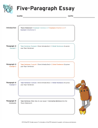 five paragraph essay graphic organizer brainpop educators take notes in preparation for writing a five paragraph expository essay using this five paragraph essay graphic organizer
