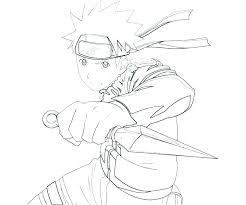 Anime Naruto Coloring Pages Book Charming Page Disney Stitch Free