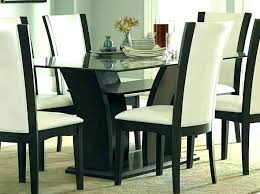 8 dining room set with leather chairs leather dining table set white leather dining room chairs
