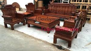 home wood sofas living room sofa sets carving furniture wooden set in la wooden sofa