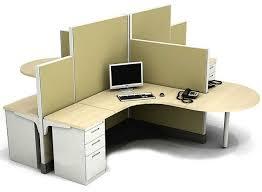 office desk cubicle. Crossing Shape Modular Workstation Desk For Office Cubicle Design