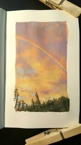 this is how a rainbow really looks art sketchbook watercolor sketchbook sketchbook inspiration