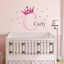 wall decal with princess crown