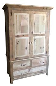 Barnwood Bar rustic barnwood wardrobe from dutchcrafters amish furniture 5190 by xevi.us