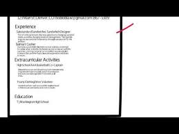 How To Write A Resume With Little Experience Youtube