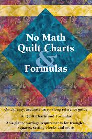 No Math Quilt Charts & Formulas - Softcover - The quilters' guide ... & No Math Quilt Charts & Formulas - Softcover - The quilters' guide for  calculating quilt Adamdwight.com