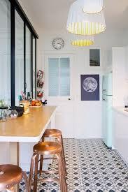 alluring kitchen floor tiles black and white
