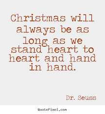 Dr Seuss Picture Quote Christmas Will Always Be As Long As We Enchanting Dr Seuss Quotes About Friendship