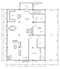 Steel Buildings With Lofts For Living Quarters Floor Plans Barn Plans With Living Quarters Floor Plans