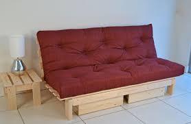 image of diy futon sofa bed with storage