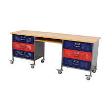 pottery barn locker furniture. Pottery Barn Teen Locker Desk On Castors Furniture E