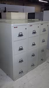 Fire Proof Filing Cabinets Stylish Fireproof File Cabinet Home Designs