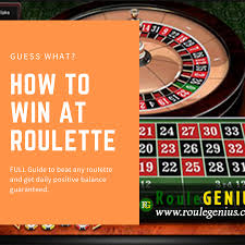 Only at casino sites can players enjoy playing free roulette games; How To Win At Roulette Full Guide Roulette Win Money Online Casino