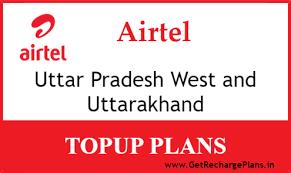 Airtel Uttar Pradesh West And Uttarakhand Online Recharge