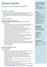 Quality Assurance Analyst Resume Beauteous Business Technology Analyst Resume Samples QwikResume