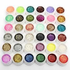 <b>10ml</b> Rose Red Shining <b>Nail</b> Glitter Dust Super Fine Powder 1mm ...