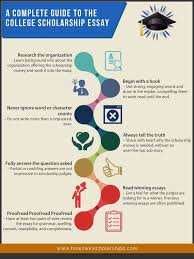 what do scholarship committees look for in an essay quora this infographic sums up the main points of how to write a great scholarship essay