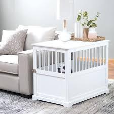luxury dog crates furniture. Fancy Dog Furniture Crate End Table Decorative Crates Luxury Uk E