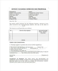 bid proposal forms proposal form templates