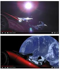 tesla car in space live. live view elon musk tesla car in space-lots-sun.jpg space i