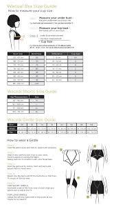 Wacoal Shapewear Size Chart Size Guide Wacoal Singapore