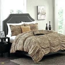 lepord print comforter medium size